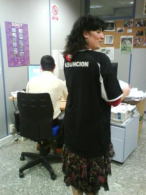 Asunción Tambien es de EL Calavera c.f.